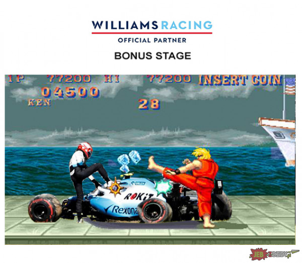 Williams  ROKIT Bonus Stage